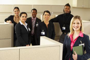 millennials in an office striving to meet their career goals