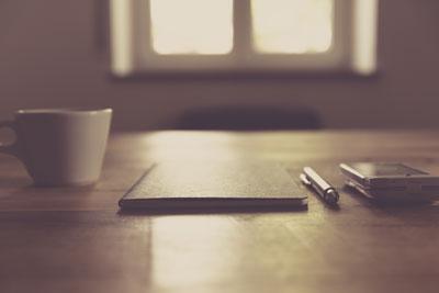 A notepad
