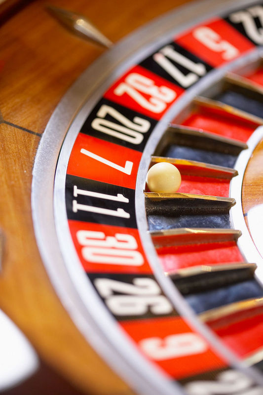 Playing the Odds Game in Job Search represented by a roulette wheel