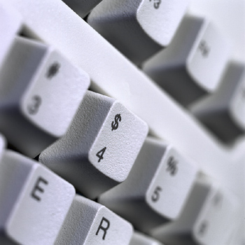 Do Not Give Up On Form Letter Responses to Your Job Search with image of a keyboard