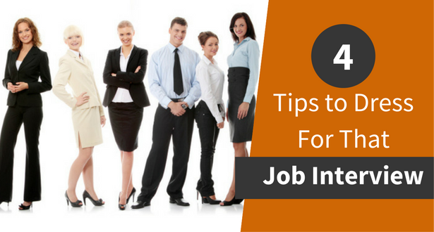 How to Dress For That Job Interview