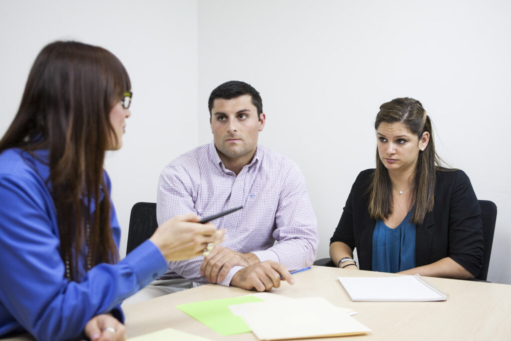 office workers collaborating