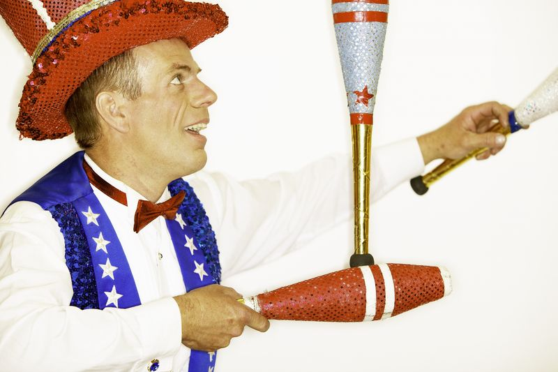 Job Search Follow Up Tricks and picture of a juggler