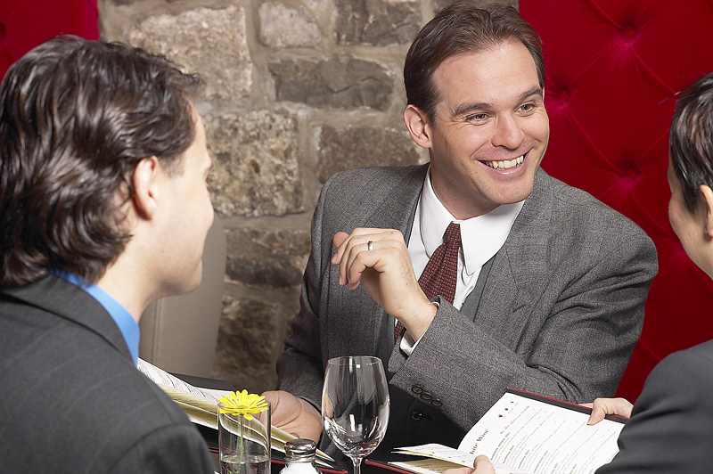 Networking or Interviewing for Your Next Career Move_Get it Right with a photo of people networking