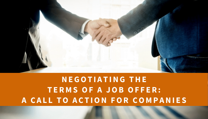 Negotiating the Terms