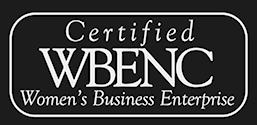 Certified WBENC (Women's Business Enterprise)