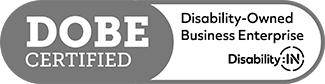 DOBE Certified (Disability Owned Business Enterprise)