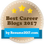 voted best career blog in 2017 by resume2017.com