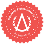 Voted top career professionals in 2017 by artgrad.org