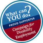 Campaign for Disability Employment Supporters Badge